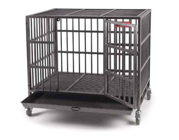 Dog crates for escape artists
