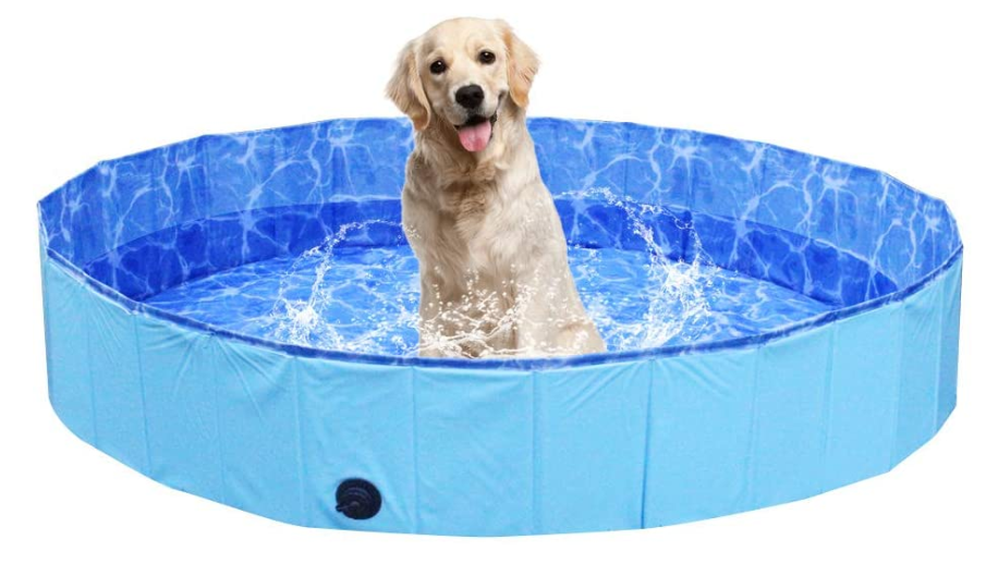 Puncture-proof dog pool