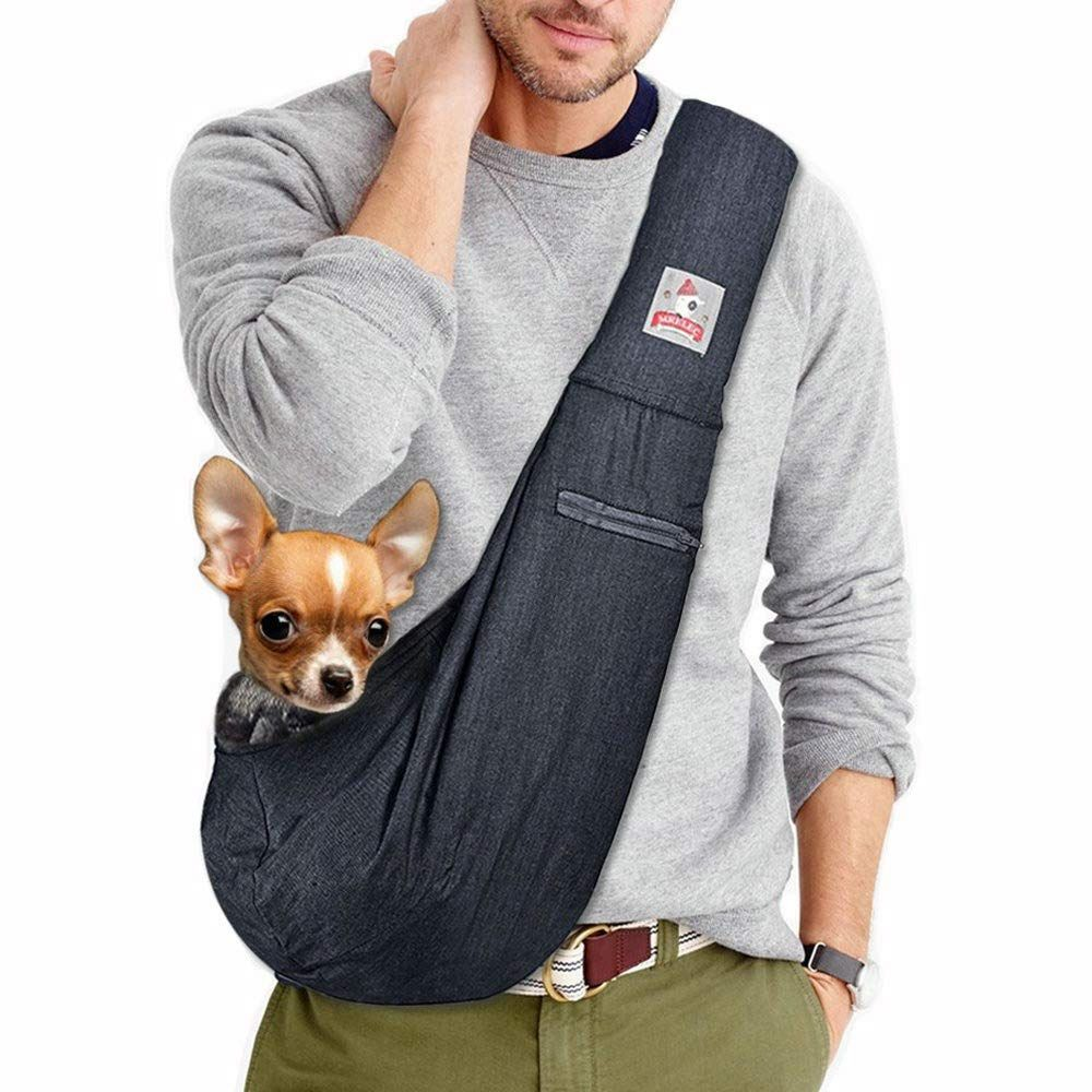 over the shoulder dog carriers