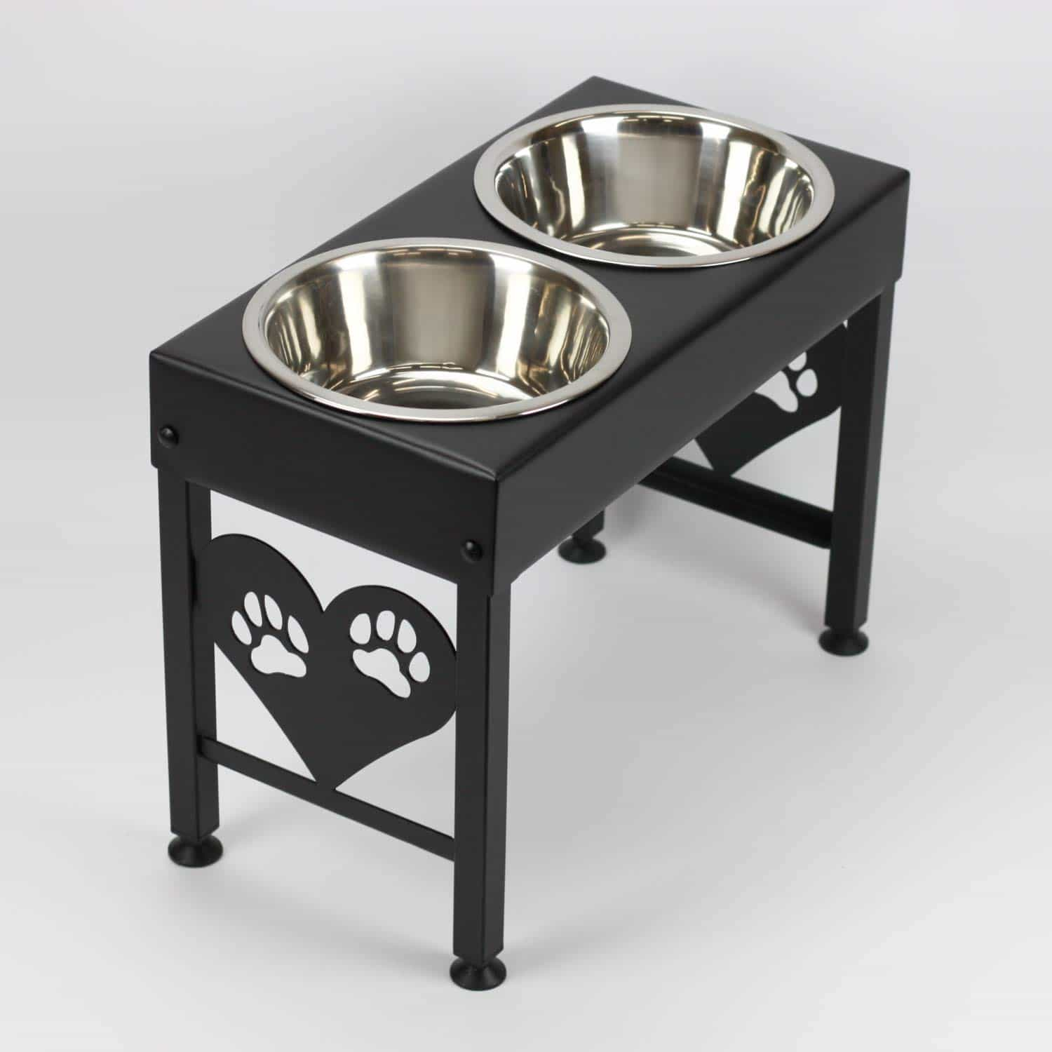 elevated dog bowl stands