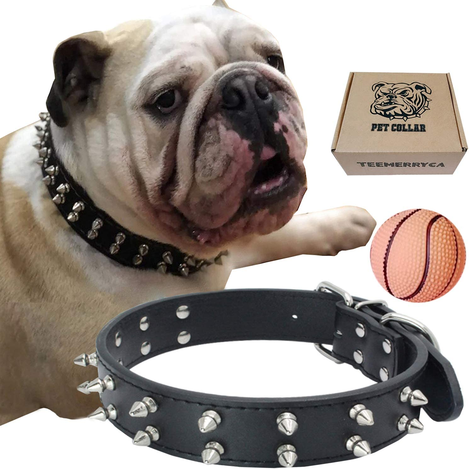 best spiked dog collars for protection