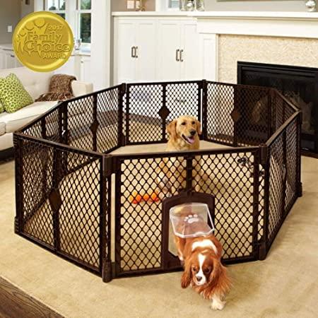 best dog playpen for hardwood floor