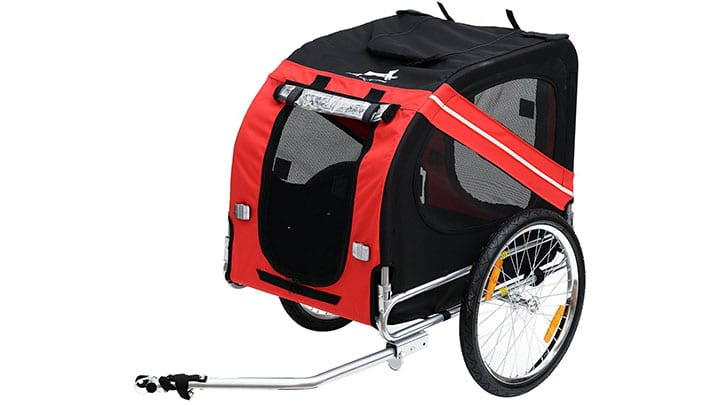 best large dog bike trailer